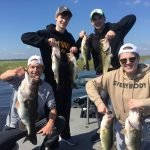 another successful smallmouth bass fishing trip with Captain George